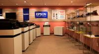 Epson Printer and Projector Demonstration Area
